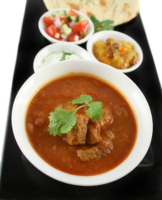 Indian Vindaloo Beef Curry